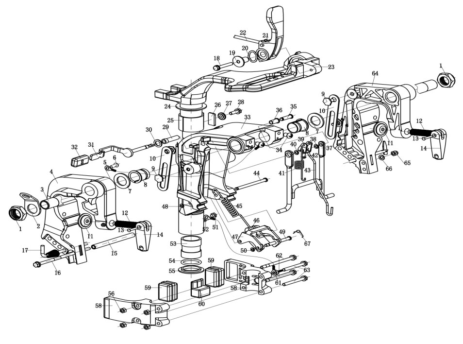 T9.9 Spare Parts